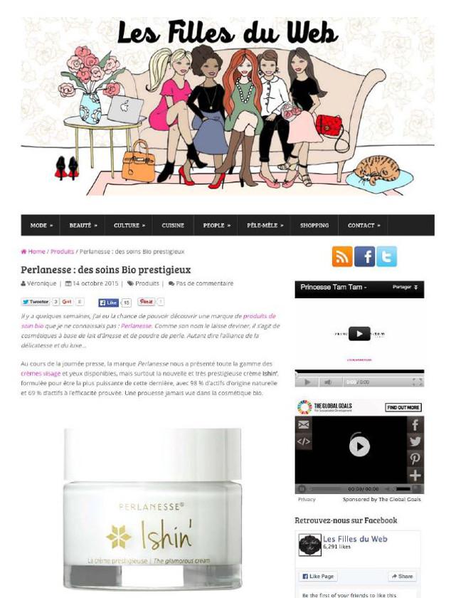 Blog Les filles du web