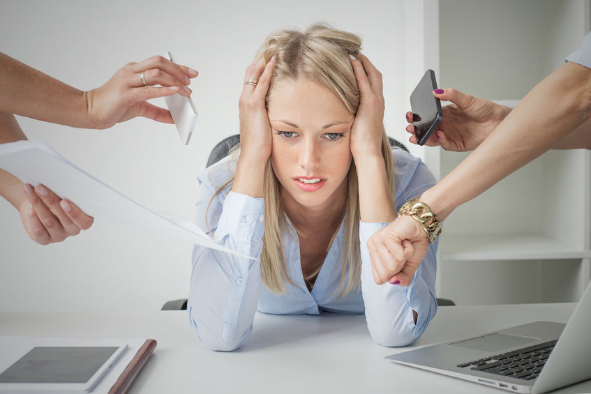 Les effets du stress sur la peau